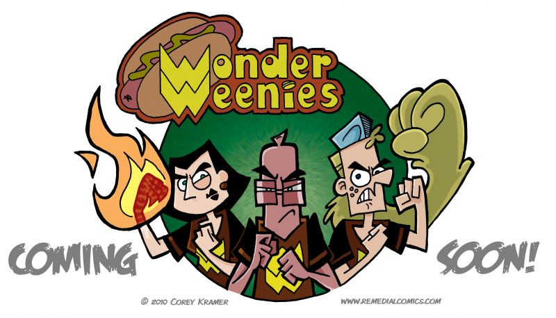 Wonder Weenies :: And away we go...