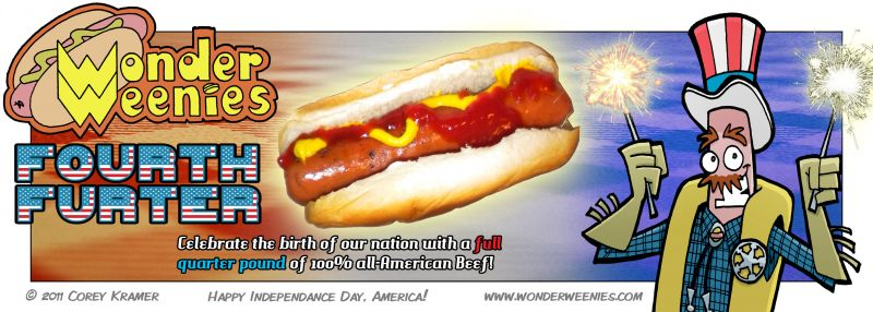 Wonder Weenies :: Have a good holiday weekend everybody! Grill a hot dog and have a Dr. Pepper for me, will ya?