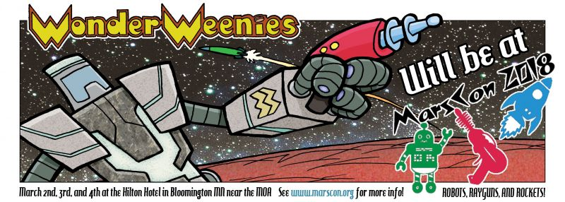 Wonder Weenies :: Wonder Weenies will return to regular updates next week... possibly Thursday of next week as I might need a day to recooperate!