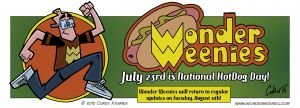 National Hot Dog Day 2015